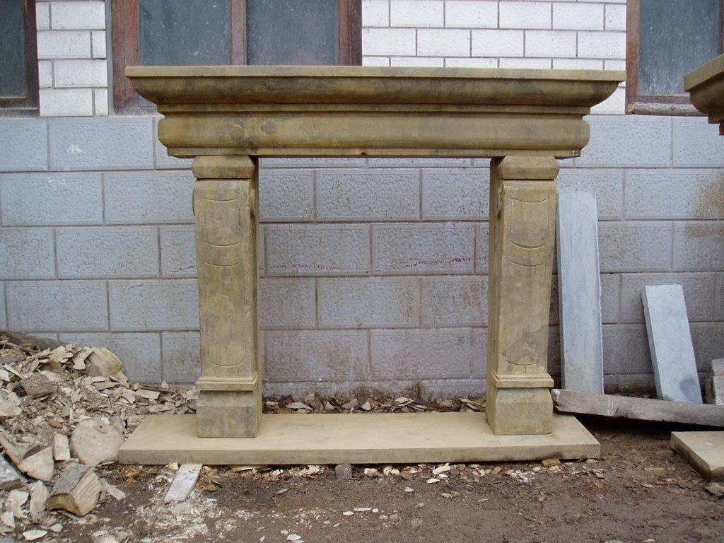 Camino In Pietra Costo: Camino in pietra moderno camini m a di ...
