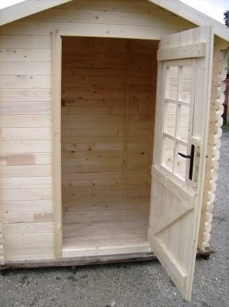 Casetta in legno cm 200x200 pareti 28 mm ci28200200 for Finestre per case in stile artigiano