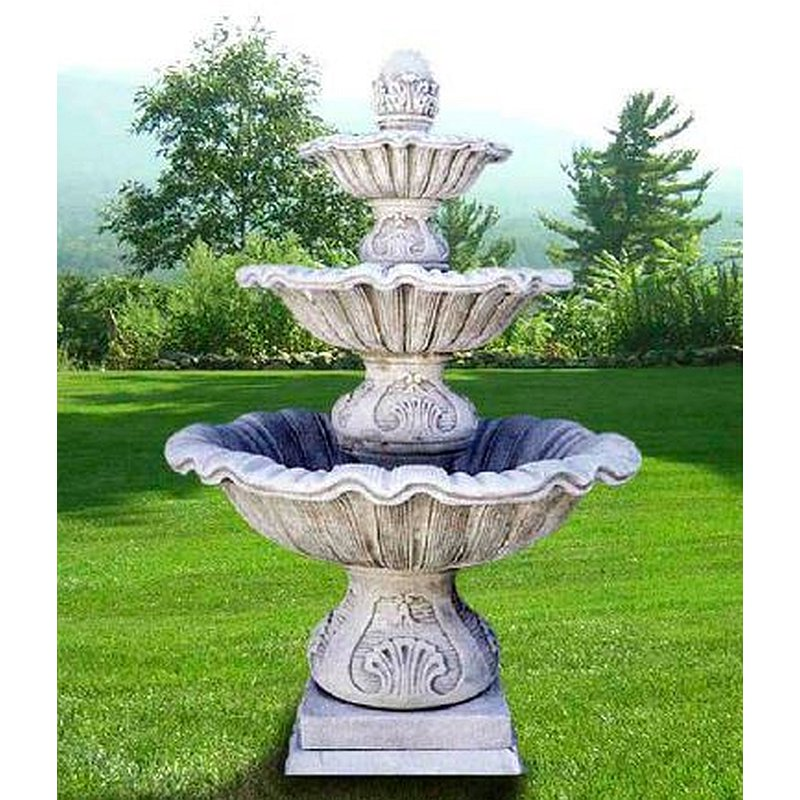 Fontane da giardino moderne free bel fer fontana da for Fontane da giardino obi