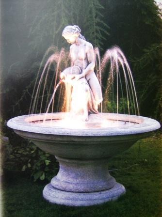 Fontana da giardino completa di pompa e luci mod fo ar 7 - Accessori per fontane da giardino ...