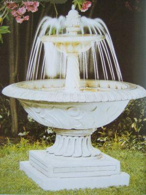Fontana da giardino completa di pompa e luci mod 104 for Pompe per fontane da giardino