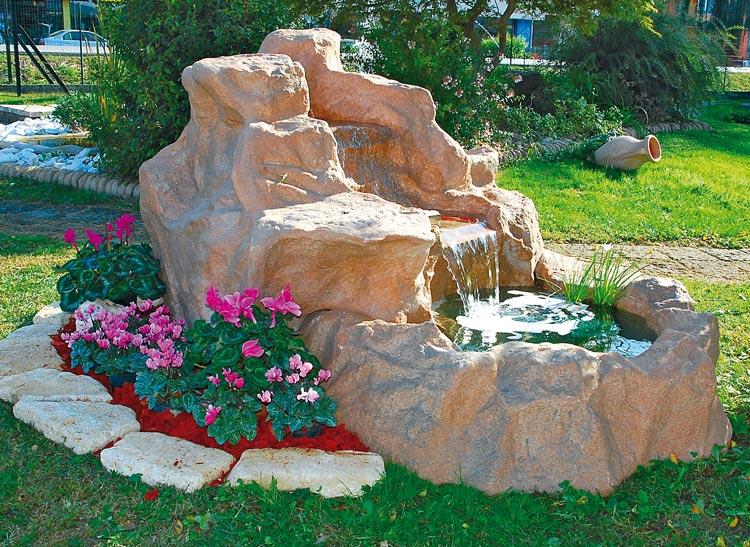 Cascata Per Laghetto Da Giardino : Pompe per laghetto da giardino pompa per fontana laghetto