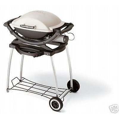 OUTLET BARBECUE A GAS WEBER Q100 CON CARRELLO