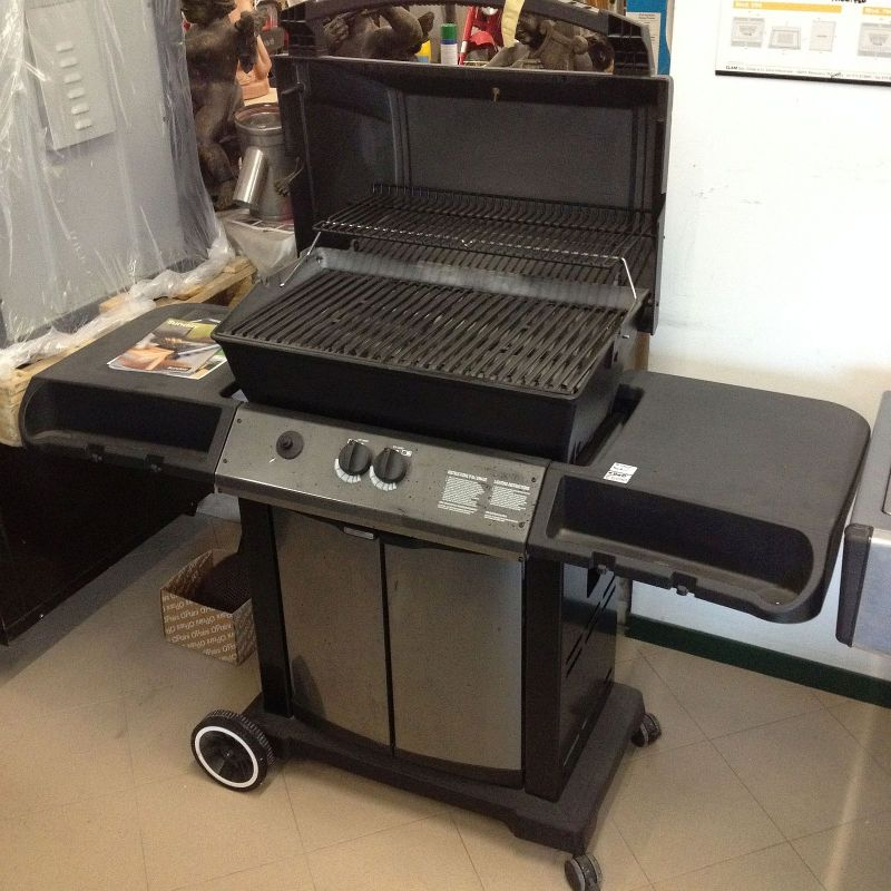 OUTLET BARBECUE A GAS BROIL KING CROWN 20