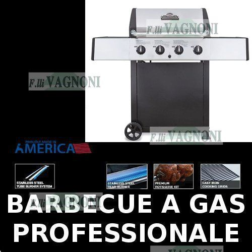 BARBECUE A GAS HUNTINGTON PATRIOT