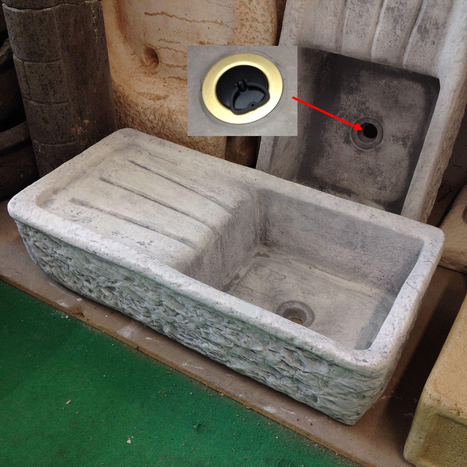 Lavandini in cemento per interni pannelli termoisolanti - Lavandino esterno pietra ...