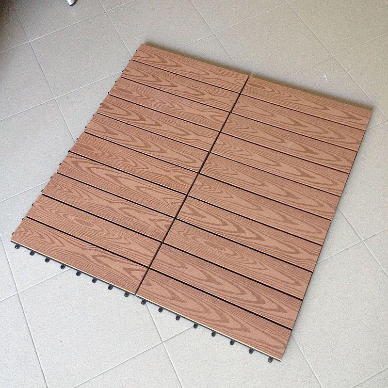 Campione di mattonella in wpc pavimento legno - Pavimento in legno da interno ...