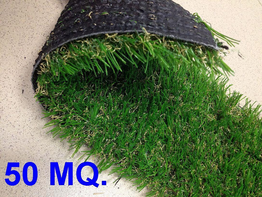 50 mq erba prato sintetico 30 mm 4 colori filati a v for Prato sintetico