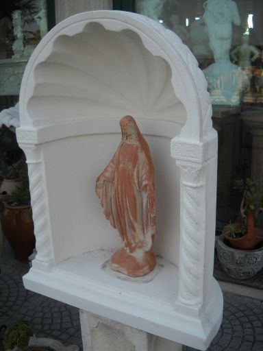 Nicchia grotta cupola in cemento cm 65 cup 324 75 00 fratelli vagnoni store per - Nicchie per statue da giardino ...