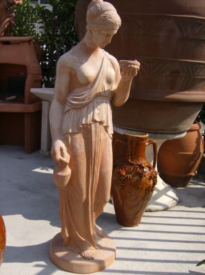 "STATUA IN TERRACOTTA ""EBE"" CM. 150"