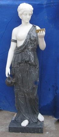 STATUA VENERE EBE IN MARMO MIX COLOR Cm. 160