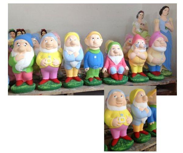 Nani Da Giardino In Plastica.Statue Colorate Fratelli Vagnoni Store Per Arredare Con Stile