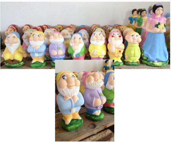 Statue colorate fratelli vagnoni store per arredare - Statue da giardino in resina ...