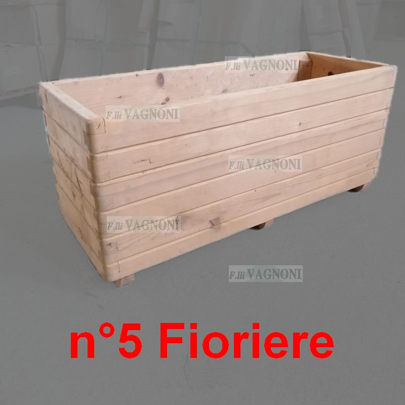 N° 5 FIORIERE IN LE