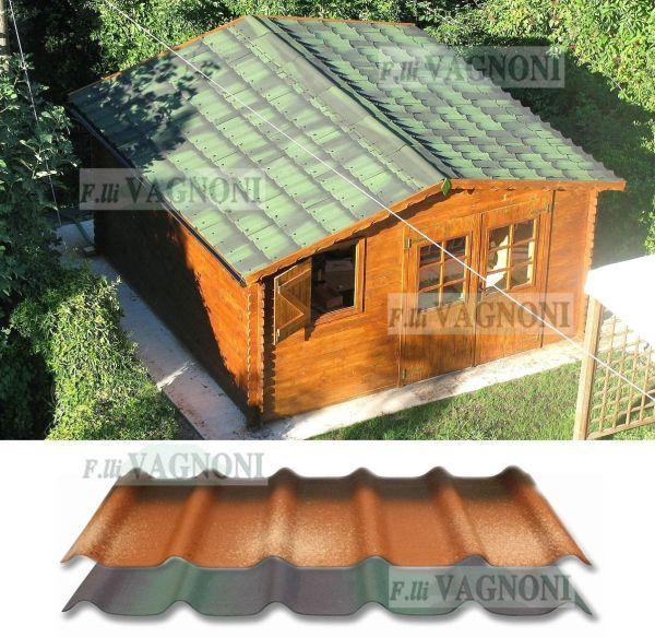 Casetta casette in di legno 277x227 250x200 spessore 28 mm for Casette in legno usate ebay