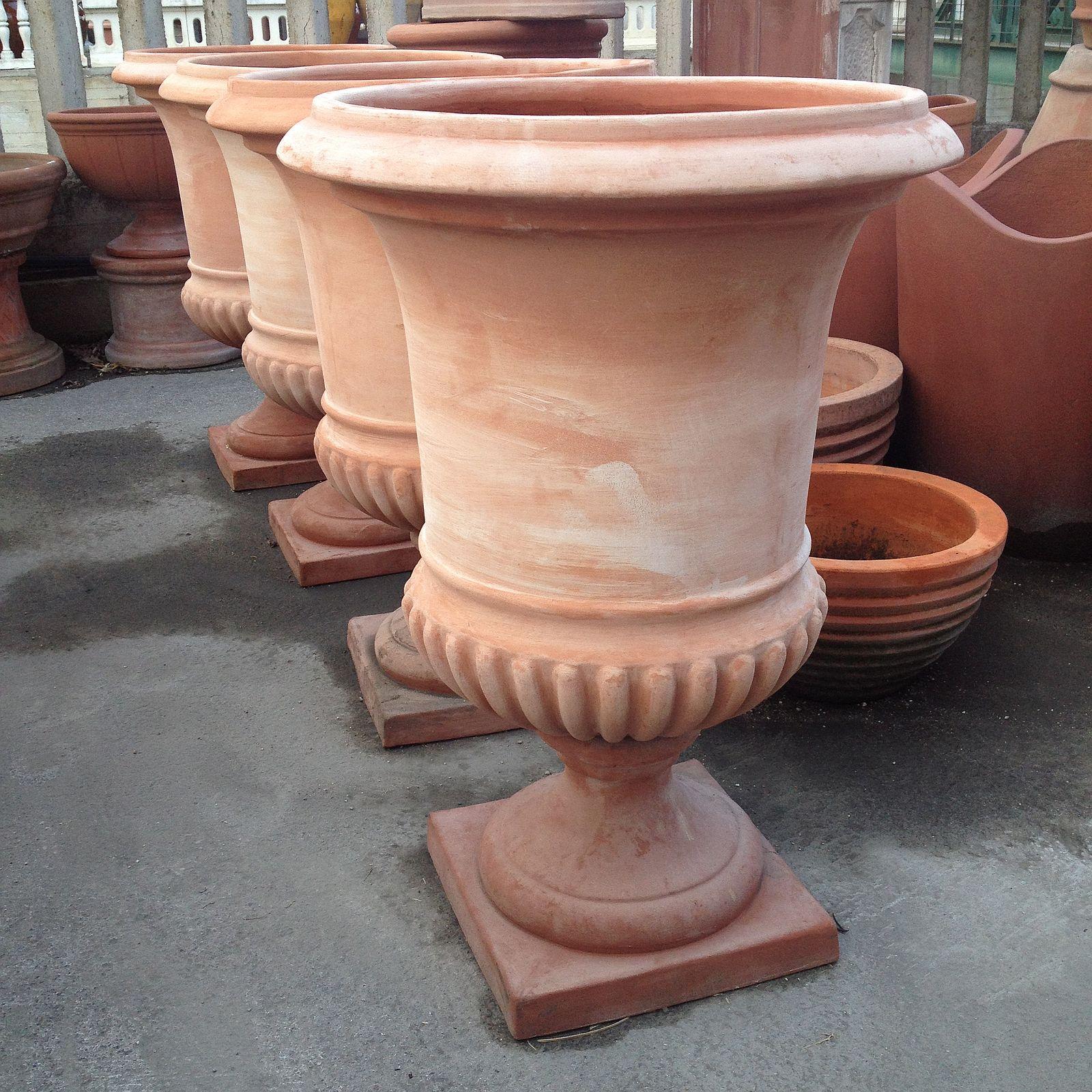 Vasi In Terracotta Per Giardino malta per riparazioni: vasi in cotto toscano prezzi
